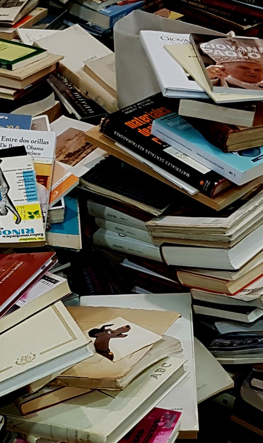 Los libros y los fotones